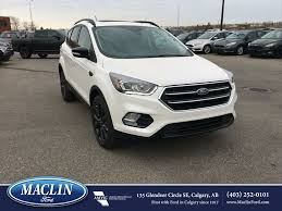 ford escape new 2018 ford escape titanium in calgary 18es5428 maclin ford
