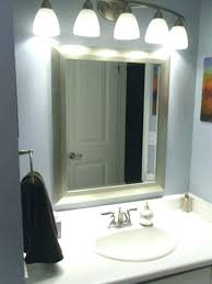 bathroom mirror and lighting ideas mirror lighting ideas masters mind