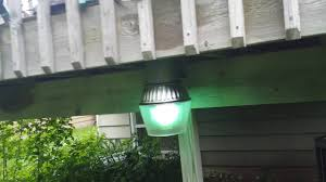 Mercury Vapor Light Fixtures 175 Watt mercury vapor bucket light on my patio youtube