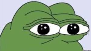 Meme Cartoon - controversial cartoon frog croaks