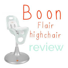 Boon High Chair Reviews Side By Side Baby Boon Flair Highchair