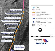 hudson light rail schedule hearings address hudson bergen light rail extension mobilizing the