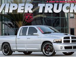 dodge ram viper 2005 dodge ram srt10 custom racing truck truckin magazine