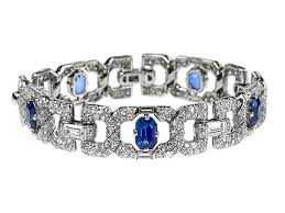 bracelet diamond sapphire images Sapphire diamond bracelet london deco diamond sapphire bracelet jpg