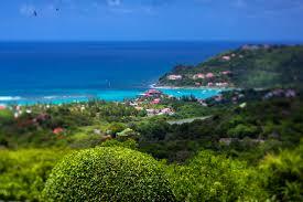St Barts Map by Villa Nirvana St Barts Caribbean Casol Villas