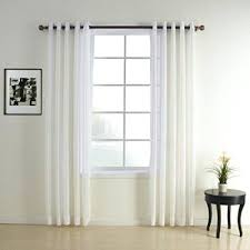 63 White Curtains Blackout Curtains 63 Length 100 Images Window Curtains 63