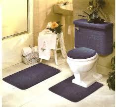 Burgundy Bathroom Rugs 5 Piece Burgundy Bathroom Rug Set Includes Area Rug Contour Rug