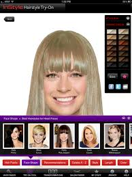 hairstyles application download instyle hairstyle try on on the app store