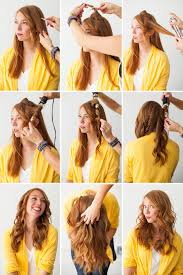 how to curl your hair fast with a wand how to get really curly hair with a curling iron