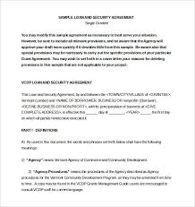 10 loan agreement templates u2013 free sample example format