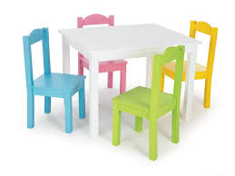 Children S Dining Table Chair Childrens Wooden Play Table And Chairs Dinner Table