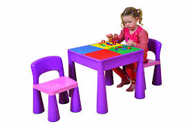 Play Table With Storage And Chairs 5 In 1 Activity Table U0026 Chairs With Writing Top Lego Sand Water