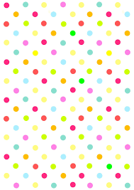 polka dot wrapping paper free digital multicolored polka dot scrapbooking paper