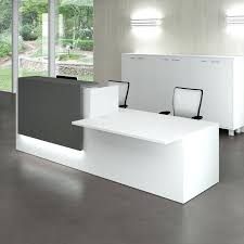 White Reception Desk Enchanting Executive Office Desk Furniture About Home Interior