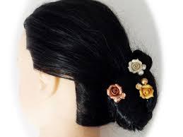 bridal hair pins bridal hair pins white gold gold
