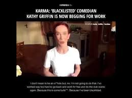 Kathy Meme - kathy griffin has been blacklisted by hollywood and is begging for