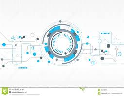 technisches design modernes technisches design mit hexagonen vektor abbildung bild