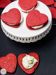 heart shaped cookies how to make easy velvet heart shaped cookies an alli event