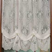 curtain lace curtain irish country french drapes ebay lace