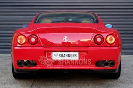 575m maranello sold 575m maranello f1 coupe auctions lot 21 shannons