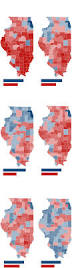 1996 Presidential Election Map by Illinois Presidential Vote Results By County Chicago Tribune
