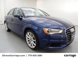 audi a3 scuba blue used 2015 audi a3 2 0t premium plus 4 dr sedan in gainesville