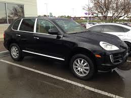 porsche cayenne blacked out backed out of range rover for this mint porsche cayenne