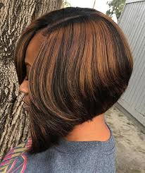 a line feathered bob hairstyles 60 bob haircuts for black women