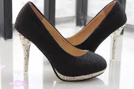 wedding shoes rhinestones mid heel closed platform rhinestone black wedding shoes australia