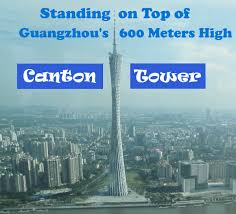 How High Is 150 Meters Standing On Top Of Guangzhou U0027s 600 Meters High Canton Tower