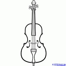 astounding inspiration cello coloring page top 20 free printable