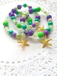 jewelry party favors mermaid bracelets gold starfish bracelet kids birthday party