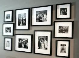 how to hang photo frames on wall without nails wall photo collage without frames wall decoration medium size photo