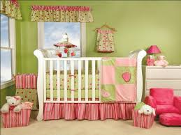 Pink And Green Bedroom - baby nursery ideas pink and green cute baby bedroom
