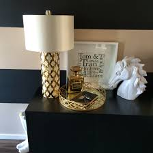 hallway decor black and gold them items from homegoods