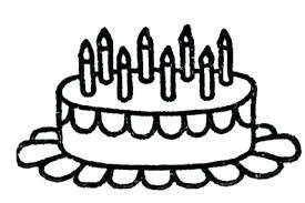 Coloring Page Birthday Cake Blank Birthday Cake Coloring Page Me Birthday Cake Coloring Pages