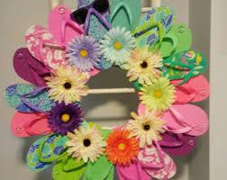 flip flop wreath flip flop wreath etsy