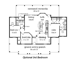 cottage style house plan 2 beds 2 baths 1516 sq ft plan 45 368