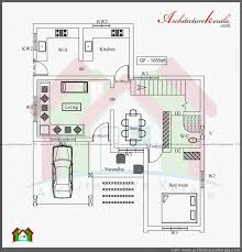 Luxury Bungalow Designs - two story house plans kerala style bedroom bungalow floor