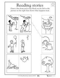 kindergarten picture sequencing worksheets 18 best 4 pictures