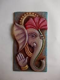 fevicryl shilpkar ideas clay mural on canvas my paintings