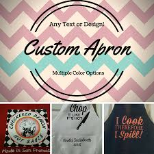 Customized Aprons For Women Personalized Kitchen Aprons Nice Home Design Lovely At