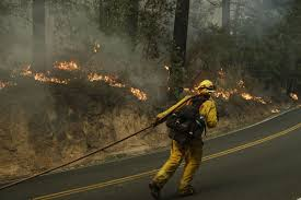 Wildfire California Video by The Latest Video Shows California Deputy Braving Flames