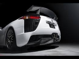 lexus white interior 2013 lexus lfa nurburgring edition white rear section