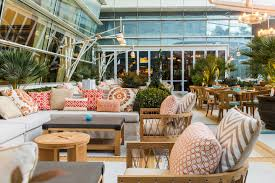 Aria Patio Furniture Outdoors The - the hottest new outdoor dining spots in las vegas