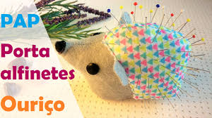 Making Pin Cushions How To Sew A Pincushion Hedgehog Diy Tutorial Youtube