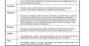 Occasion Soapstone Rhetoric One The Soapstone Analysis Method Google Docs