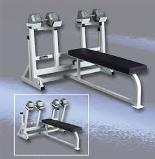 Weight Bench With Spotter Wilder Free Weight Self Spotting Dumbbell Press The Bench Press