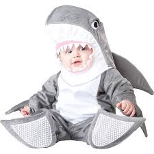 silly shark halloween costume infant size 18 months cute lil