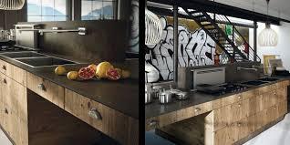 cuisine en bois massif moderne cuisine contemporaine bois massif design model des cuisine